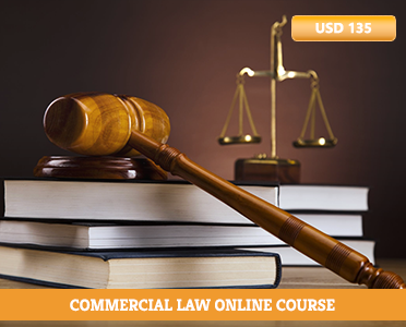 Commercial Law Online Course - Commercial law practice - Business law courses - commercial law courses distance learning - Online courses